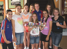Students from St. Patricks College, Bundaberg